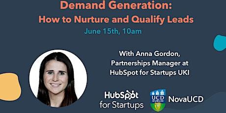 Demand Generation: How to nurture and qualify leads tickets