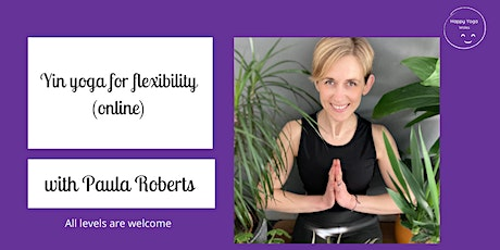 Yin Yoga Online with Happy Yoga Wales tickets