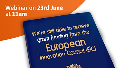 Innovation Grant Funding Webinar with Alexander Clifford & Co and Catax tickets