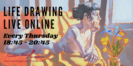 Thursday Evening Life Drawing Live Online tickets
