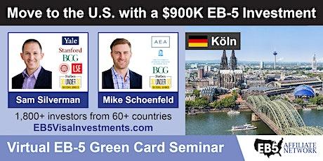 U.S. Green Card Virtual Seminar – Koeln, Germany tickets
