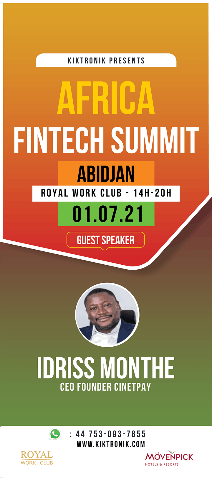 Africa Fintech Summit in Abidjan image