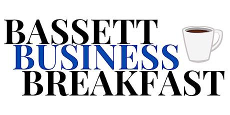 Bassett Business Breakfast billets