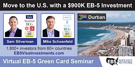 U.S. Green Card Virtual Seminar – Durban, South Africa tickets