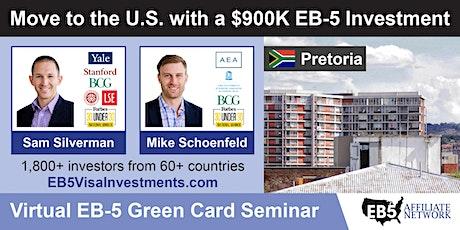 U.S. Green Card Virtual Seminar – Pretoria, South Africa tickets