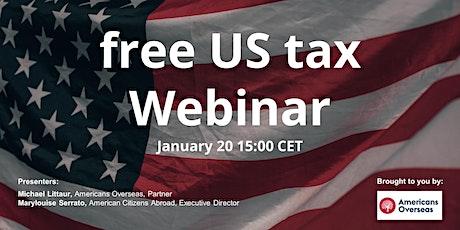 US tax seminar (free) tickets
