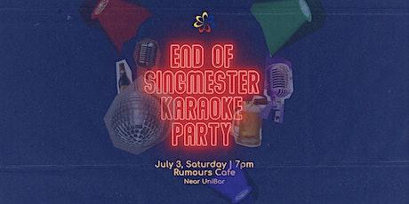 End of Singmester Karaoke Party tickets