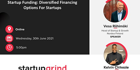 Startup Funding: Diversified Financing Options for Startups tickets