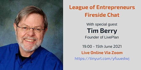 Fireside Chat with Tim Berry Founder of Palo Alto Software (LivePlan) tickets