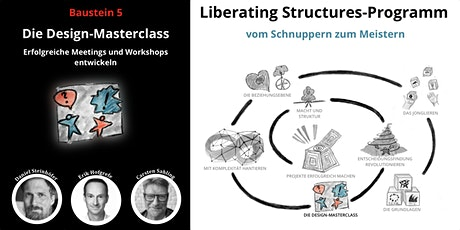 Liberating Structures-Programm: Die Design-Masterclass Tickets
