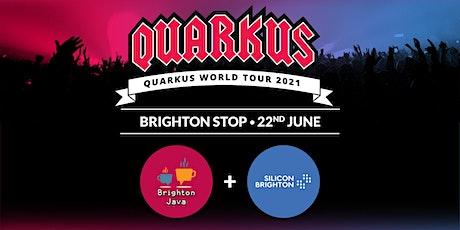 Brighton Java - Quarkus World Tour 2021 biglietti