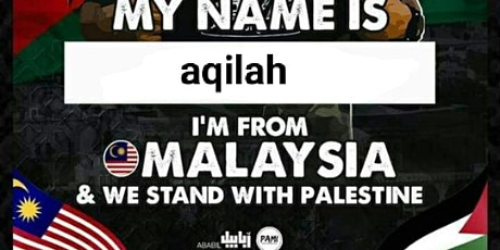 Copy of Kami bersama Palestine tickets