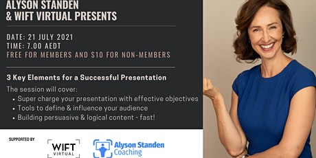 3 Key Elements for a Successful Presentation tickets