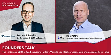 Founders Talk mit Torsten R. Bendlin & Ingo Potthof tickets
