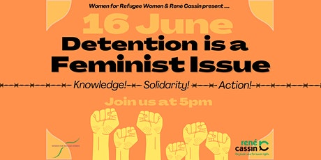 Detention is a Feminist Issue tickets