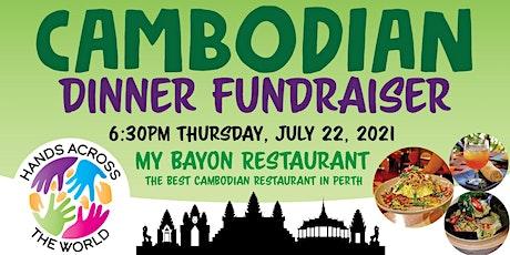 Cambodian Dinner Fundraiser tickets