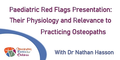 Paediatric Red Flag Presentations tickets