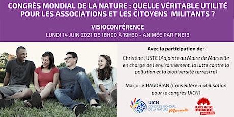 CONGRES MONDIAL DE LA NATURE A MARSEILLE : QUELLE VERITABLE UTILITE ? biglietti