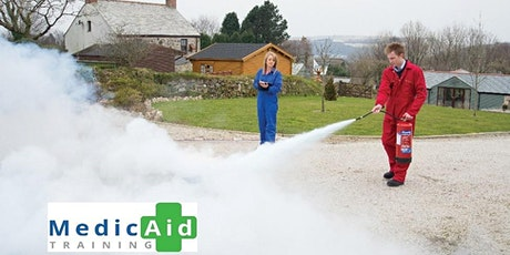 Fire Safety Marshal Course Monday 28th June 2021-1pm - 4.30pm. tickets