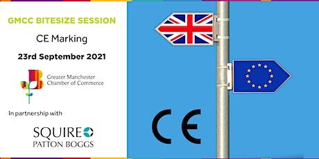 GMCC Bitesize Session - CE Marking tickets