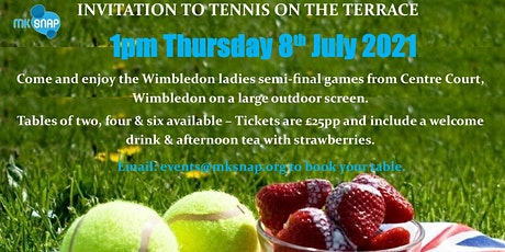 Tennis on the Terrace tickets