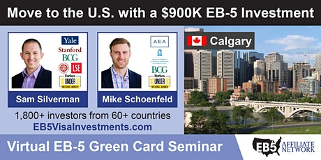 U.S. Green Card Virtual Seminar – Calgary, Canada tickets