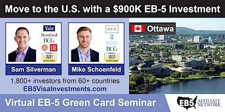 U.S. Green Card Virtual Seminar – Ottawa, Canada tickets