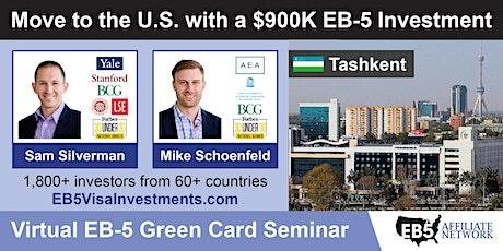 U.S. Green Card Virtual Seminar – Tashkent, Uzbekistan tickets
