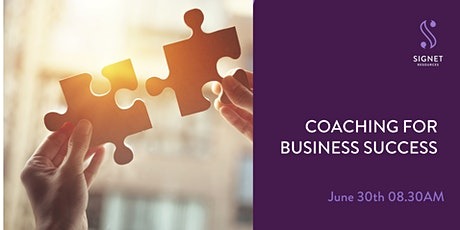 Coaching For Business Success tickets