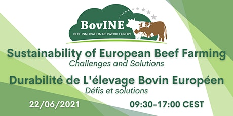 Sustainability of European Beef Farming: Challenges and Solutions Tickets