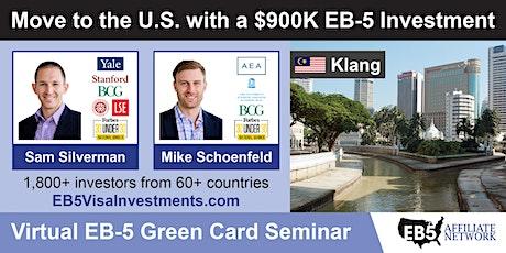 U.S. Green Card Virtual Seminar – Klang, Malaysia tickets