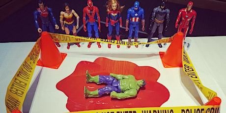 ALSIG Active Learning Playground: Virtual Superhero Murder Mystery Tickets