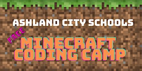 Minecraft Coding Camp tickets