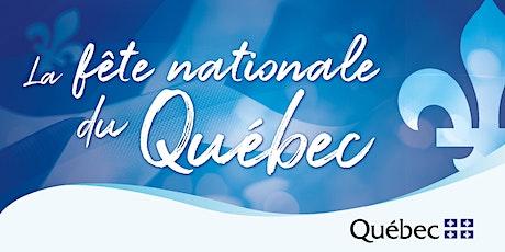 Fête nationale du Québec à Londres 2021 billets