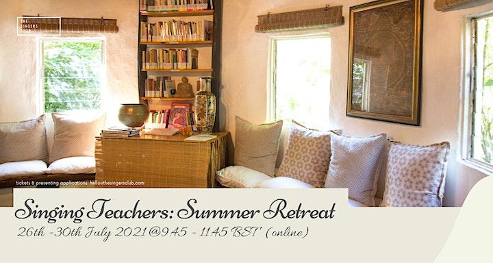 Singing Teachers: Online Summer Retreat 2021 image