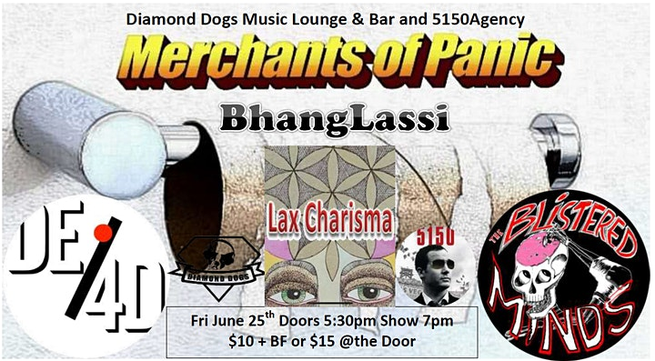 Diamond Dogs Music Lounge & Bar and 5150 Agency Presents image