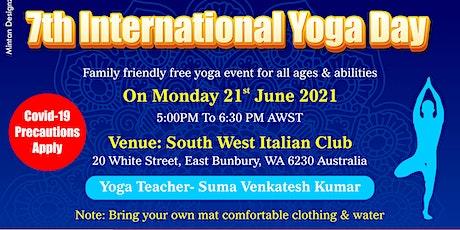 Bunbury International Yoga Day 2021 tickets