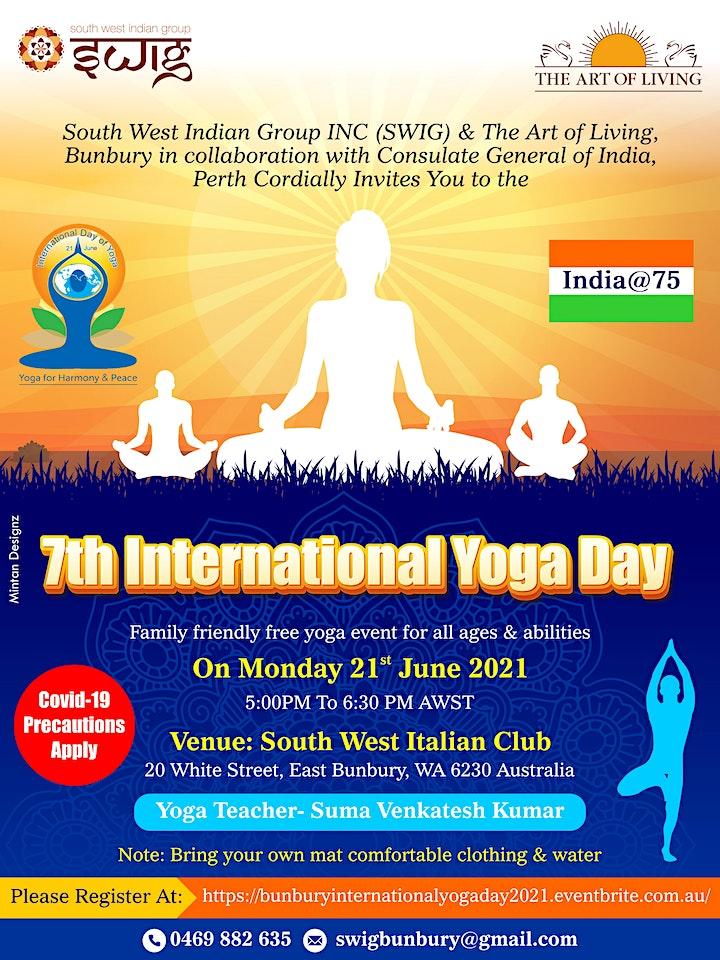 Bunbury International Yoga Day 2021 image