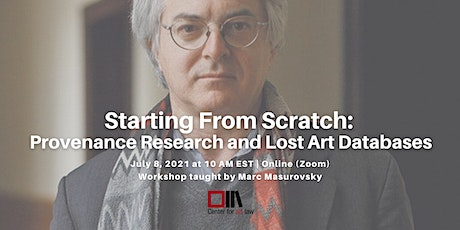 Starting From Scratch: Provenance Research and Lost Art Databases biglietti