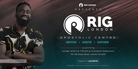 Third  date of  RIG London Apostolic centre tickets