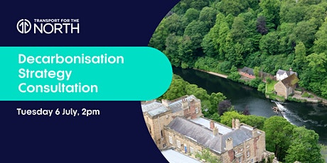 Decarbonisation Strategy Consultation Webinar - North East tickets