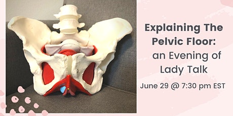 Explaining the Pelvic Floor- Down There Care for Ladies tickets