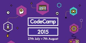 Kainos CodeCamp - 27th July - 7th August 2015