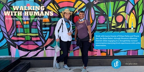 Walking with Humans: A curated walking conversation tickets