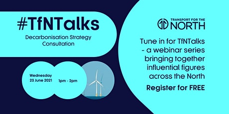 #TfNTalks | Our Decarbonisation Strategy tickets