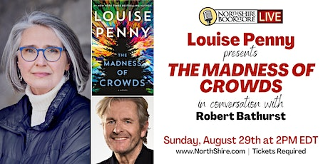 """Northshire Live: Louise Penny """"The Madness of Crowds"""" tickets"""