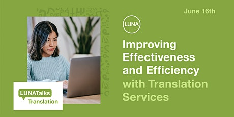Improving Effectiveness and Efficiency with Translation Services tickets