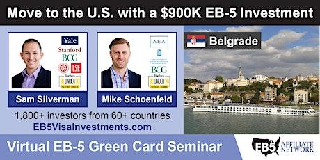 U.S. Green Card Virtual Seminar – Belgrade, Serbia tickets