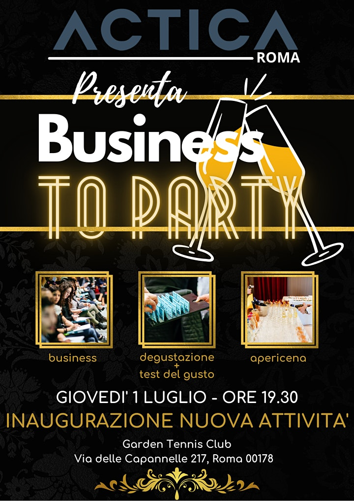 Immagine Business To Party