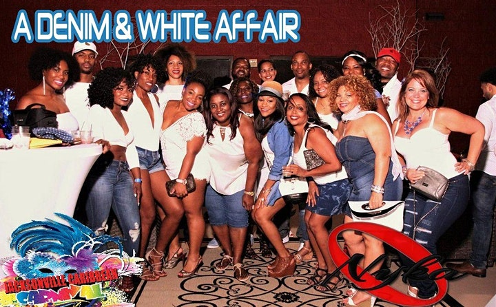 DENIM & WHITE Affair featuring RICARDO DRUE image